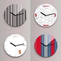 Reflex 무소음벽시계(소) 심플디자인 ND 4종