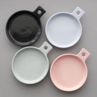 메레신 손잡이 접시 플레이트 - 3color