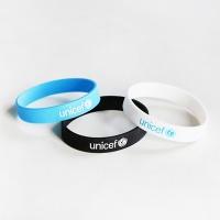 유니세프팔찌-UNICEF SILICONE BRACELET (성인/아동)