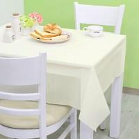 칼라 비닐 테이블보-아이보리(1매입)