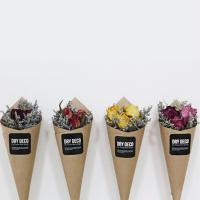 드라이플라워 장미 미니 꽃다발