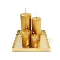 Candela Stick Gold 4size