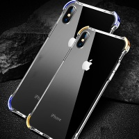 아이폰11 프로 맥스 컬러 에어백 투명 강화유리케이스