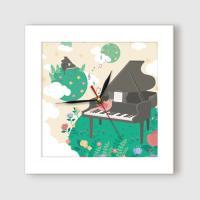 ct859-숲의노래_미니액자벽시계
