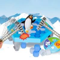 신형 복불복 펭귄 얼음깨기 어린이 가족 보드게임