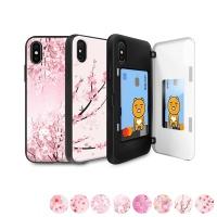 [아이폰11프로] 벚꽃 마그네틱 자석 도어 범퍼케이스