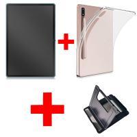 갤럭시탭 S7 강화유리 젤케이스 태블릿거치대 세트 GB