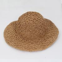 [보니스텔라] 17SS443 이중지사 넓은챙 밀짚 모자