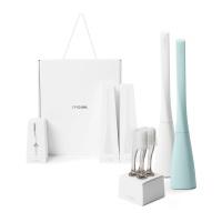 선물세트C-칫솔2개(민트,화이트)+이중미세모