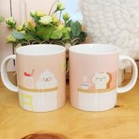 라비디저트샵 머그컵 - 핑크카페
