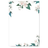 캘리그림엽서-잔잔한벚꽃(10장)