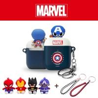 에어팟 정품 마블 캐릭터 실리콘 케이스 1/2_캡틴 279