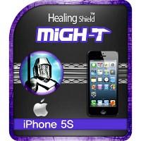 [힐링쉴드] 아이폰5S 마이티 안티쇼크 충격흡수(방탄)보호필름 2매+후면보호필름 1매(HS140318)
