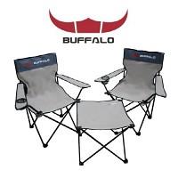 [버팔로] 익스텐션 캠핑의자 테이블 3종세트