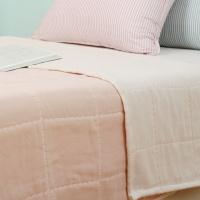 프리미엄 6중거즈 여름이불 - 핑크