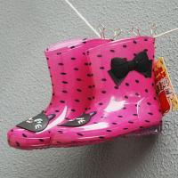 핑크 고양이 도트 유아 레인부츠(160-200mm) 203893