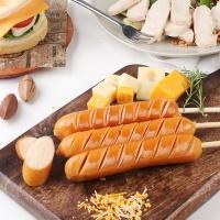 [허닭] [BEST] 닭가슴살 소시지 후랑크 오리지날 70g