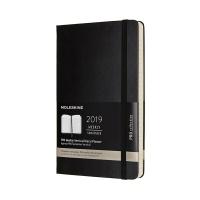 몰스킨 2019프로 위클리(세로형)/블랙 하드 L
