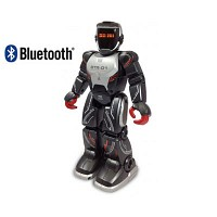 [동영상]블루투스 BLU-BOT 무선조종 로봇 (SVL88022BK) R/C 로보트
