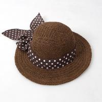 [보니스텔라] 17SS450 땡땡이 리본 밀집 모자