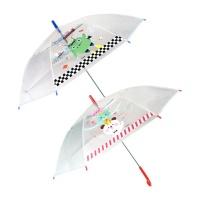 아이비스 투명아동장우산(CR)-레드