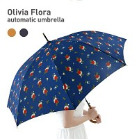 Olivia Flora 패턴 자동 장우산