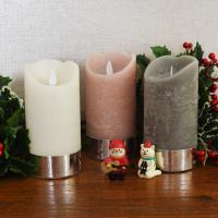 크리스마스 LED 캔들(대)