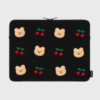Dot cherry bear 15inch pouch