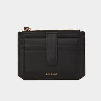 Dijon 301S Flap mini Card Wallet black 디종 플랩 미니 카드지갑 블랙