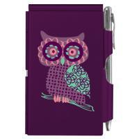 플립노트1630 Purple Owl 304214