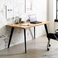 블랙 인더밴 1500 철제 책상 컴퓨터테이블