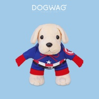 [도그웨그 DOGWAG] 강아지&고양이 캡틴아메리카 코스튬