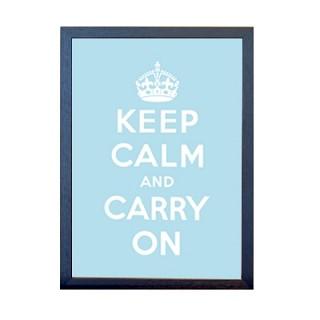 KEEP CALM 포스터 - 스카이블루
