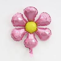 은박 꽃풍선 50cm (핑크)
