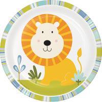 해피정글 7인치 사자접시 Happy Jungle Lion plate