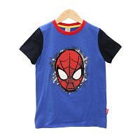 [Marvel 正品] Spiderman patch tee
