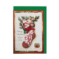 FS109-6 크리스마스카드 카드 성탄카드