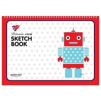 [기성]Premium스케치북 22매로봇