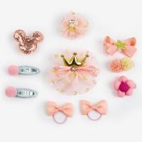 [인디고샵] 프리티 핑크 헤어핀 키트