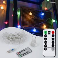 어반 LED 버블전구 50구 USB형 컬러