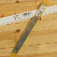 [Yamada] 30cm 유광 스틸자-일본 야마다 철직자/쇠자 1팩(12개입)