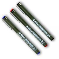 코픽 Artline Drawing System 펜(BLUE 0.8mm)