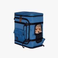 베럴즈 강아지 카시트 백팩 Dog Carseat Backpack (Blue)
