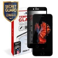 아이폰6 3D 시크릿가드 강화유리 풀커버1+후면1-블랙