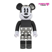 1000%BEARBRICK MICKEY MOUSE B&W (1812012)