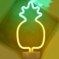 LED 네온전구 조명등 (파인애플 / 2색)