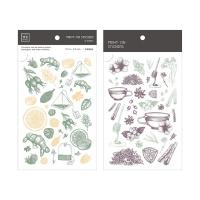 Miccudo 프린트-온 스티커 Ver.2 (16. HerbalTea Set)