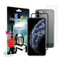 아이폰11 프로 3D 풀커버 강화유리1매+후면1+카메라6