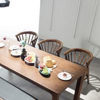 [채우리] 그로잉 6인 원목 식탁세트(의자)