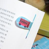 [플라스틱 and 자석 자동책갈피] 자동책갈피 수지인 : 세계여행 - 잉글랜드